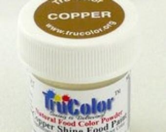 Tru Color Deep Copper Shine Food Paint 4 gram