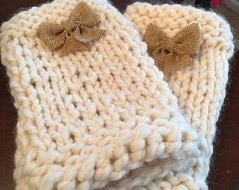 Knit Wrist Warmers