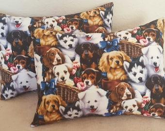 Dog Lovers Decorative Throw Pillow