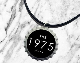 The 1975 - Bottle top charm necklace | pop punk rock band logo