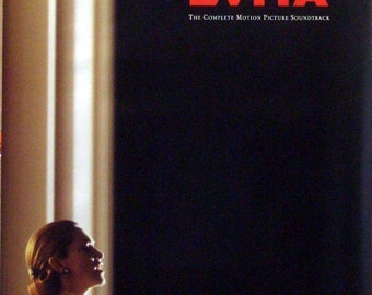 Evita Soundtrack 24x36 Promo Movie Poster Madonna