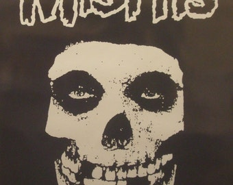 The Misfits 23x35 Fiend Club Poster