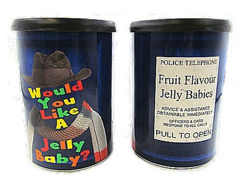 Would you like a Jelly Baby? Candy tin