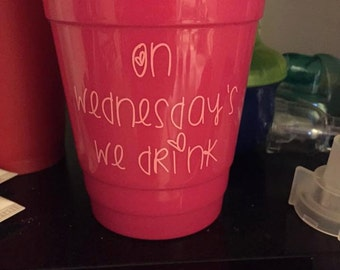 mean girls solo cup