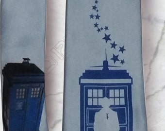 Doctor Who David Tennant TARDIS Necktie