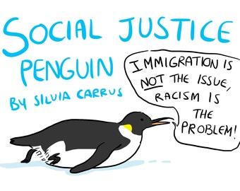 Social Justice Penguin Comic