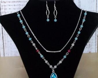 Beautiful 2-piece necklace
