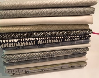 Carkai and Architecters from Carolyn Friedlander for Robert Kaufman Fat Quarter Bundle