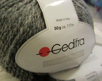 GEDIFRA English Tweed in grey