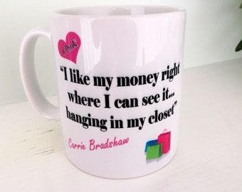 Carrie Bradshaw Mug & Coaster