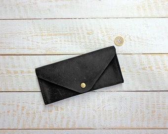 Womens leather wallet, long leather wallet, iPhone wallet, leather purse, mens leather wallet, leather cardholder, ladies leather wallet