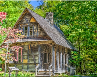 Cradle of the Forestry, North Carolina, Mountains, Old Rustic House