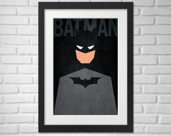 Batman Poster - Illustration  / Batman Poster / Batman / The Dark Knight