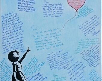 Balloon memory canvas