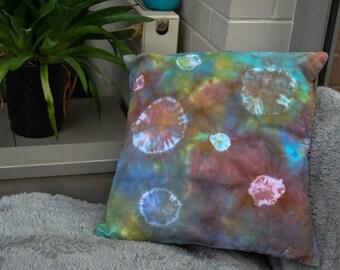 Tie Dye Galaxy Circles Cushion/Pillow
