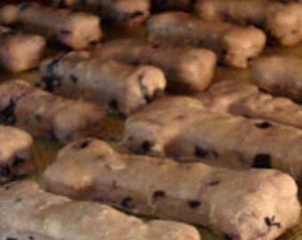 Grain Free Blueberry Peanut Butter Treats