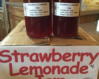 Strawberry Lemonade Jam