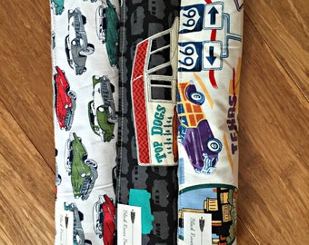 Burp Cloths: Cars, Food Trucks & Americana