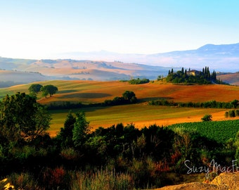 The Belvedere House, Val D'Orcia, Italy