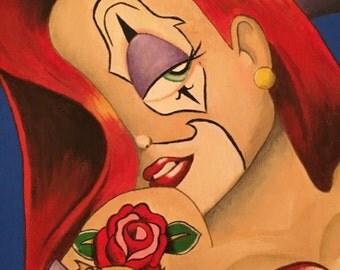 Original Chola Clown Jessica Rabbit