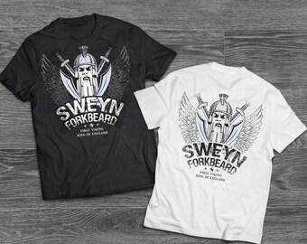 T-Shirt 1st. Viking King of England by Sweyn Forkbeard