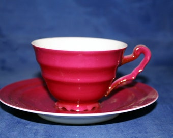 vintage Demi tasse cup and saucer from Czegho-Slovekia
