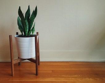 "12"" Midcentury Plant Stand"