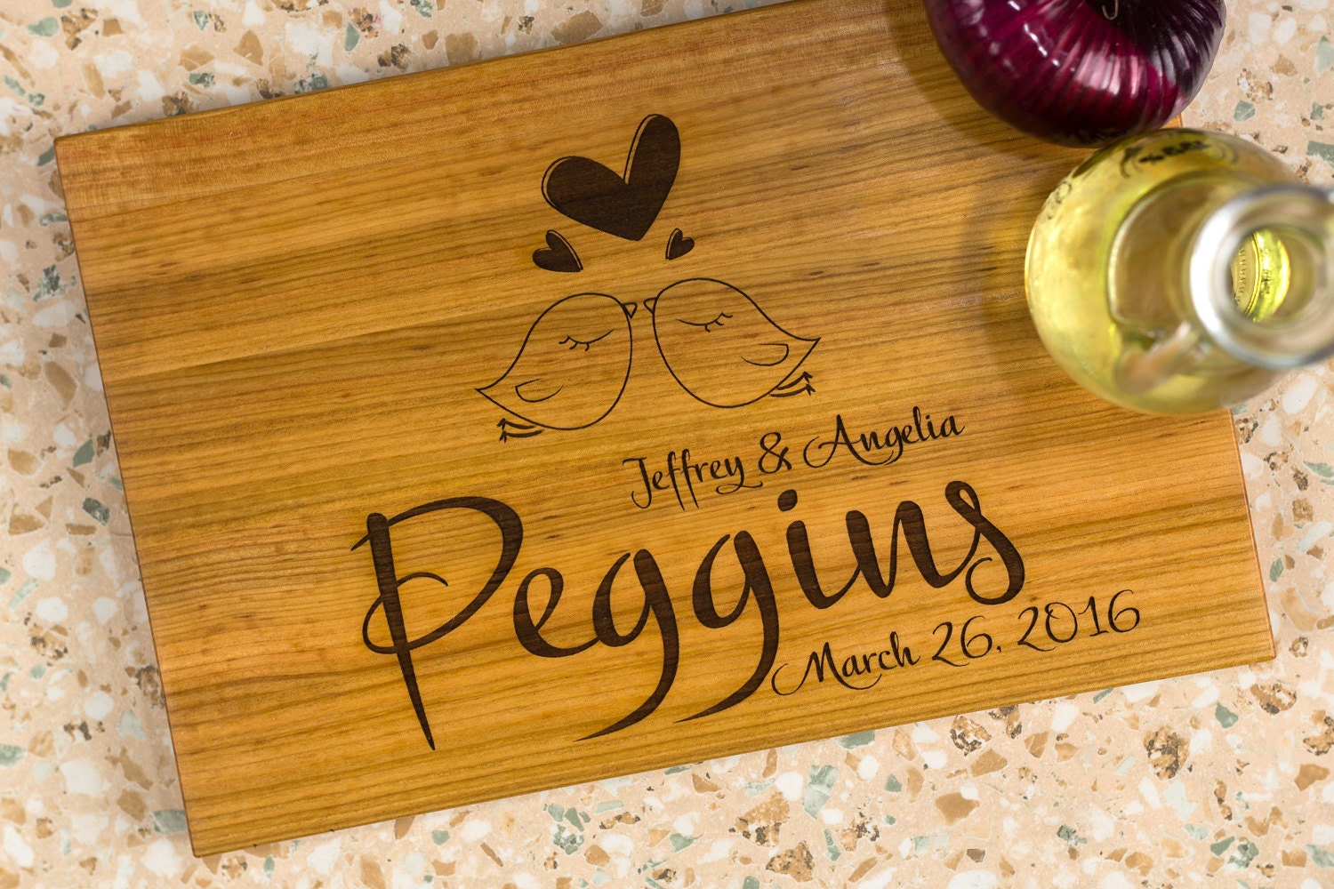 Luxury Wedding Gifts For Couple : Couple cutting board cutting board for wedding gift luxury