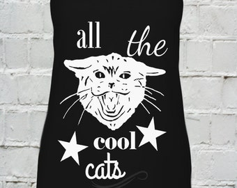 ALL THE COOL cats...top 2016 women tank top