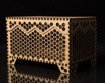 Honeycomb Keepsake box