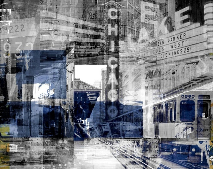 CHICAGO III by Sven Pfrommer - Artwork is ready to hang