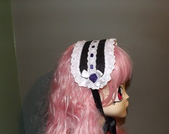 Gothic Lolita maid's headdress