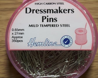 Dress maker pins