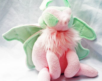Mint Dream Moth Plush