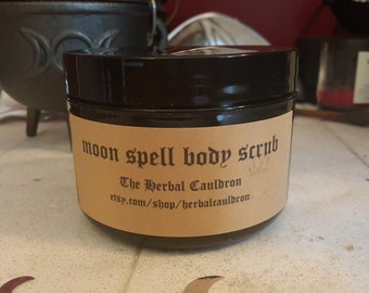 Moon Spell body scrub