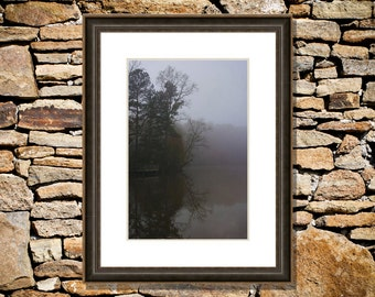 Observation photograph fine art print Yates Mill Pond Raleigh chromogenic c-print home apartment personal yours condo