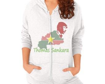 Thomas Sankara Zip Hoodie Women's