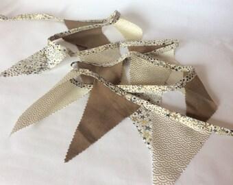 Garland fabric pennants Liberty Adeladja