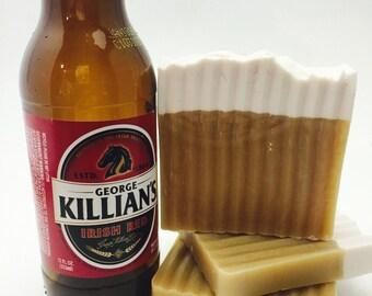 Killian's Red beer soap