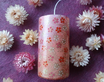 Aroma Candle 【Japanese paper】 Cherry Blossoms