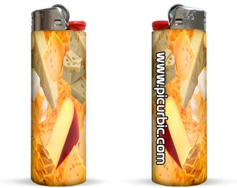 Cheese Edition Lighter by Pic Ur Bic - Brand NEW - High Quality!