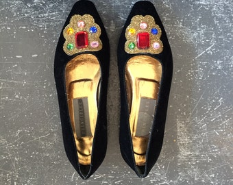 Jewel Ballet Flats