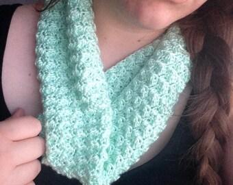 Soft Crochet Cowl Infinity Scarf
