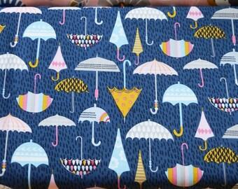 DASHWOOD PRINTED FABRIC Come rain or shine printed cotton