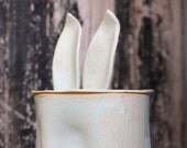Home & Living, Home Décor, Rustic Home Decor, Bunny Lovers, Bunny Collectors,  Rabbit Figurine, Ceramic Rabbit, Ceramic Bunny, Kids Room