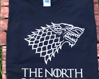 The north remembers shirt, game of thrones thrones shirt, game of thrones, house stark
