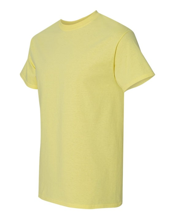 Corn silk t shirt 100 cotton for decorating by for Cotton silk tee shirts