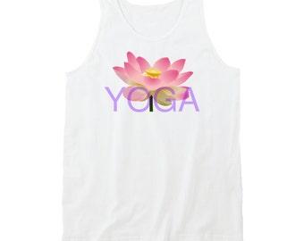 Yoga Lotus Tanktop, Yoga Shirt, Yoga Tank, I Love Yoga