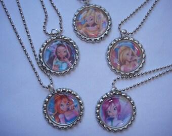 Winx Club Necklaces Set of 5