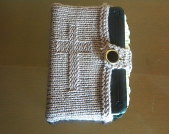 Knitted Bible Cover